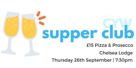 CYW Monthly Supper Club tickets