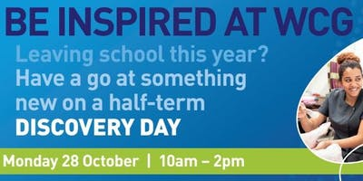 Half-term Discovery Day at Rugby College