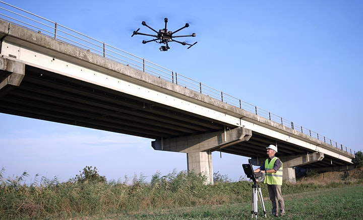 Immagine Lavorare con i Droni: Diagnosi e digitalizzazione delle infrastrutture