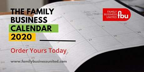 The Family Business Calendar 2020 tickets