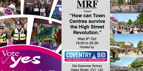 MRF - Revolution of our High Streets & Town Centers tickets