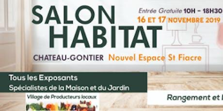 Le salon de l'Habitat de Château-Gontier- sur-Mayenne billets