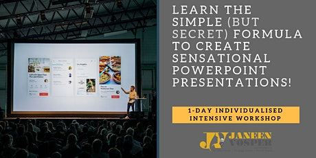Learn the Secret Formula To Create Sensational PowerPoint Presentations  tickets