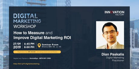 [PAID Event] How to Measure and Improve Digital Marketing ROI tickets