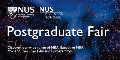 NUS Business School Postgraduate Fair tickets