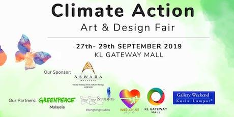Climate Action Art & Design Fair 2019 (KL Gateway Mall) tickets