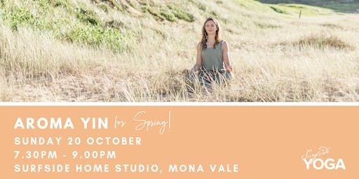 Aroma Yin - for Spring!