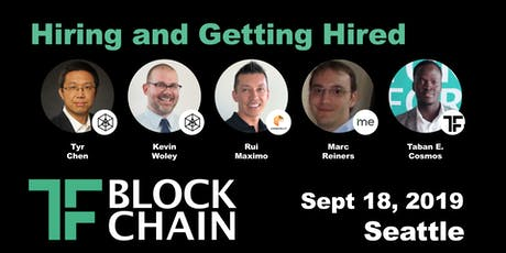 Hiring & Getting Hired in Blockchain | TF Block SEA Chapter: Ep 7 - September 18, 2019 tickets