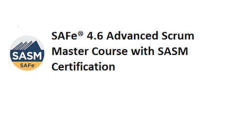SAFe® 4.6 Advanced Scrum Master with SASM Certification 2 Days Training in Frankfurt billets