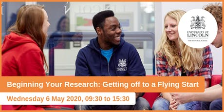 Doctoral School Induction: Beginning Your Research: Getting off to a flying start  tickets