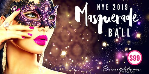 NYE Masquerade Ball at Broughtons