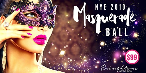 NYE Masquerade Ball at Broughtons