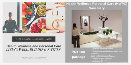 Health Wellness Personal Care Sanctuary 201`9 tickets
