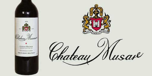 Chateau Musar Masterclass