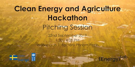 Pitching Session Of Clean Energy and Agriculture Hackathon tickets