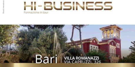 Hi-Business Bari biglietti