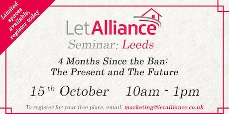 Let Alliance Seminar: Leeds tickets