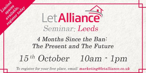 Let Alliance Seminar: Leeds