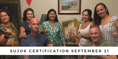 Become a Holistic Healer: Sujok Certification tickets