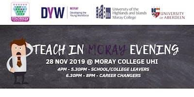 Teach in Moray Evening