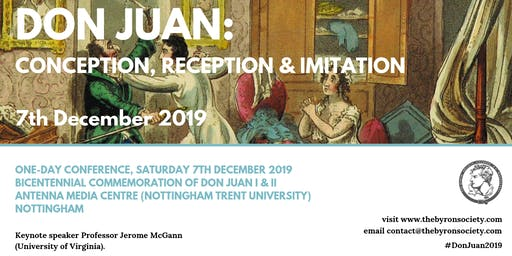 Don Juan: Conception, Reception and Imitation
