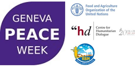 Geneva Peace Week 2019 - Prevention of conflict over natural resources tickets