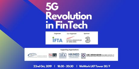 5G Revolution in FinTech tickets