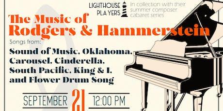 Rodgers and Hammerstein Cabaret tickets
