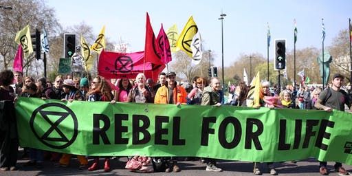 'Art as Resistance'– Talk and Workshop with Extinction Rebellion