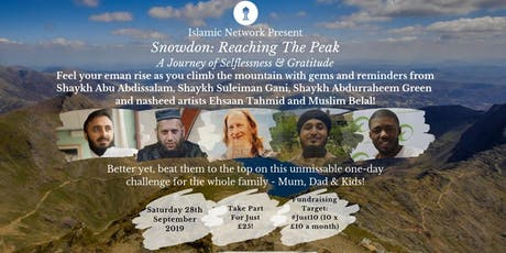 Snowdon: Reaching The Peak | A Journey of Selflessness and Gratitude tickets