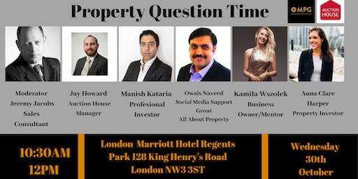 30th October Property Question Time