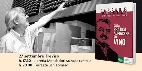 Incontro con Gaspare Buscemi, presenta: Guida pratica al Piacere del Vino biglietti