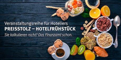 Preisstolz - Hotelfrühstück Lutherstadt Wittenberg 15.10.2019 Tickets
