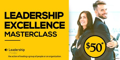 Leadership Excellence Masterclass tickets