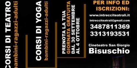 PRESENTAZIONE CORSI DI TEATRO ADULTI tickets