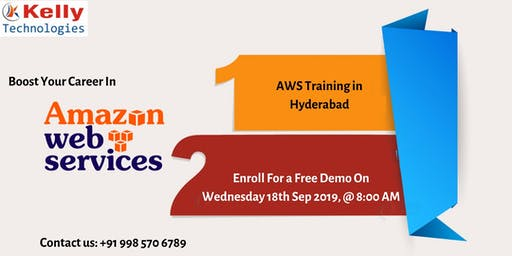 Attend Free Demo On AWS Training-Opportunity To Begin In You Career In AWS
