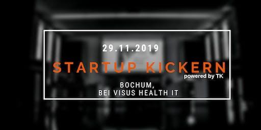 Startup Kickern bei Visus Health IT in Bochum (powered by TK)