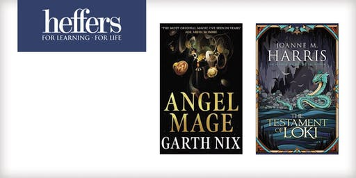 Fantasy Fiction Signing: Garth Nix and Joanne M. Harris