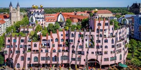 Exklusives Business Frühstück in Hundertwassers Grüne Zitadelle Magdeburg  Tickets
