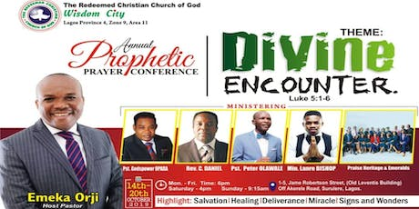PROPHETIC PRAYER CONFERENCE 2019 - DIVINE ENCOUNTER tickets