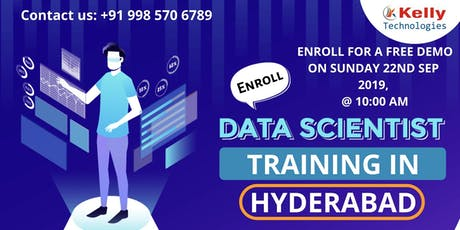 Get Enrolled For The Free Interactive Data Science Demo Session tickets