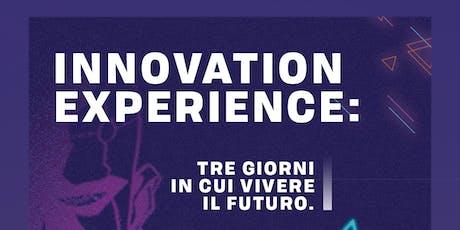 Raycast Innovation Experience, tre giorni in cui vivere il futuro biglietti