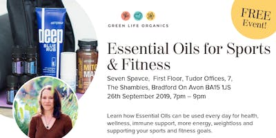 Essential Oils for Sports and Fitness