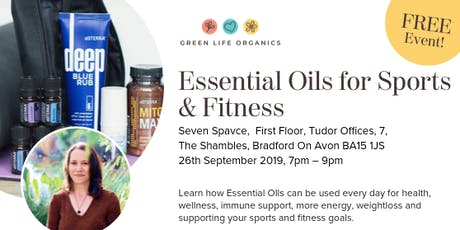 Essential Oils for Sports and Fitness tickets