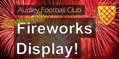 Audley Football Club Fireworks Display 2019
