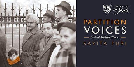 Partition Voices: Untold British stories tickets