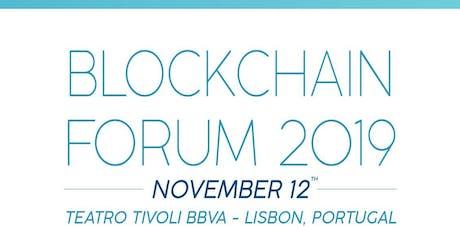 Blockchain Forum 2019 bilhetes