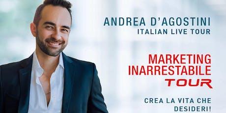 Marketing inarrestabile - Andrea d'Agostini  live tour (TORINO) biglietti