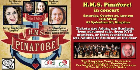 HMS Pinafore! In concert tickets