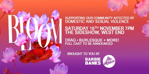 BLOOM Benefit │Fundraising for Domestic and Sexual Violence